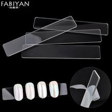 10Pcs/Lot Nail Art Tips Display Holder Board Clear Bar Acrylic Chart False Stick Practice UV Gel Polish DIY Salon Manicure Tools