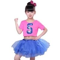girls ballet dress for children girl modern dance costumes for girls jazz dance dress girl performance costumes stage dancewear