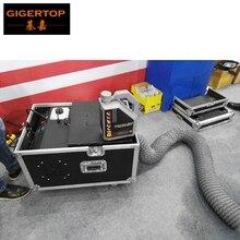 TIPTOP 3000 w laaggelegen fog machine water base rook machine AC110/220 v DMX512 controle en afstandsbediening met Flight Case TP-T65