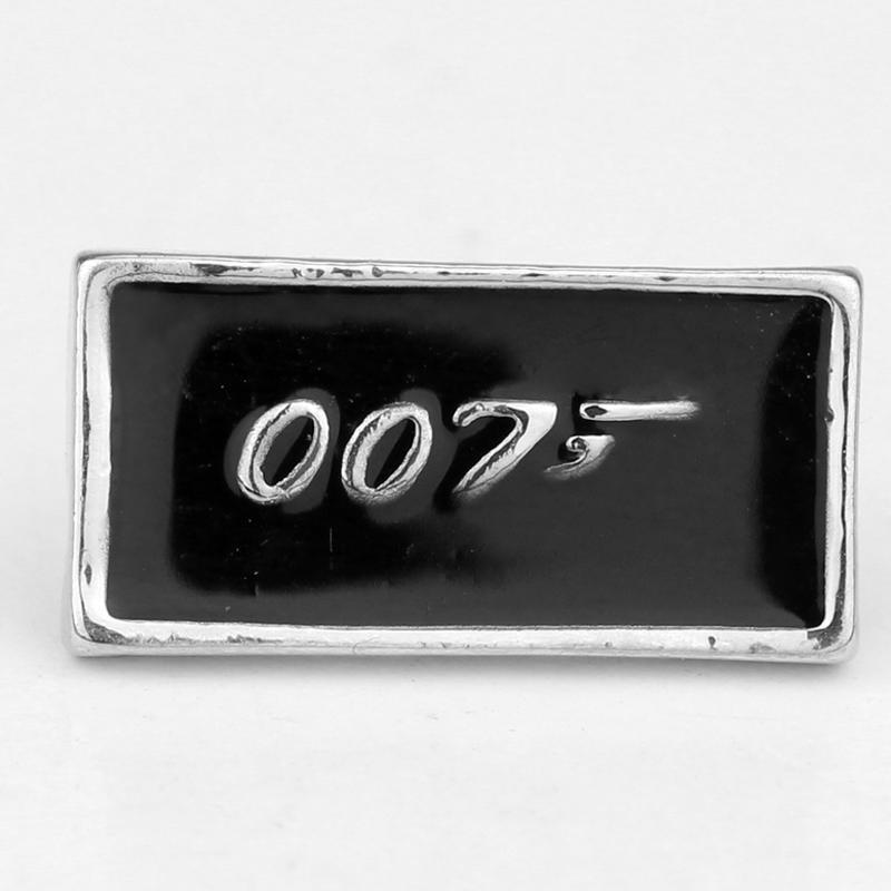 Guang Rong Sieraden James Bond Film Sieraden 007 Broche Badge Metalen Accessoires Leuk Cadeau