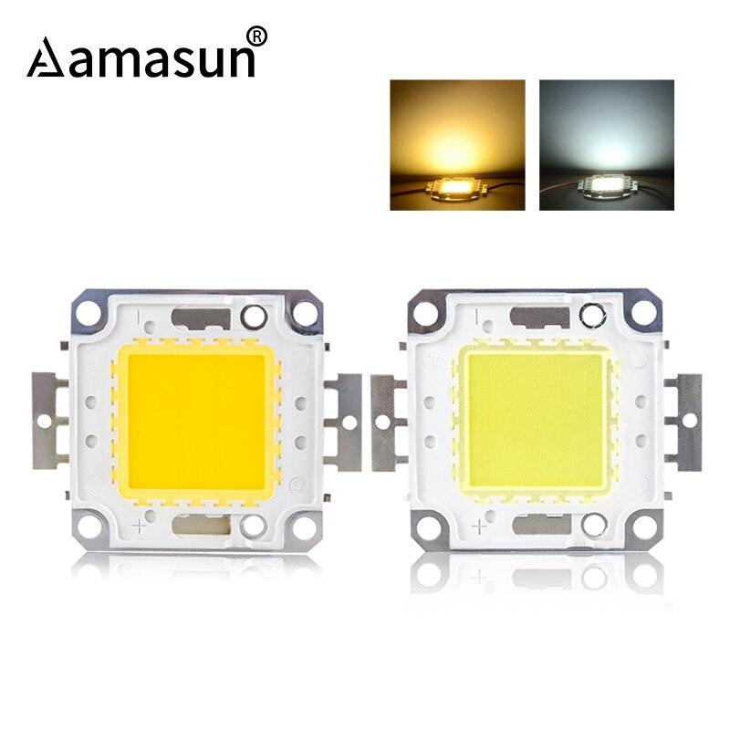 Светодиодный COB чип лампа DC 12V 10W 36V 100W 50W 30W 20W DIY прожектор теплый белый холодный белый высокой яркости бусины