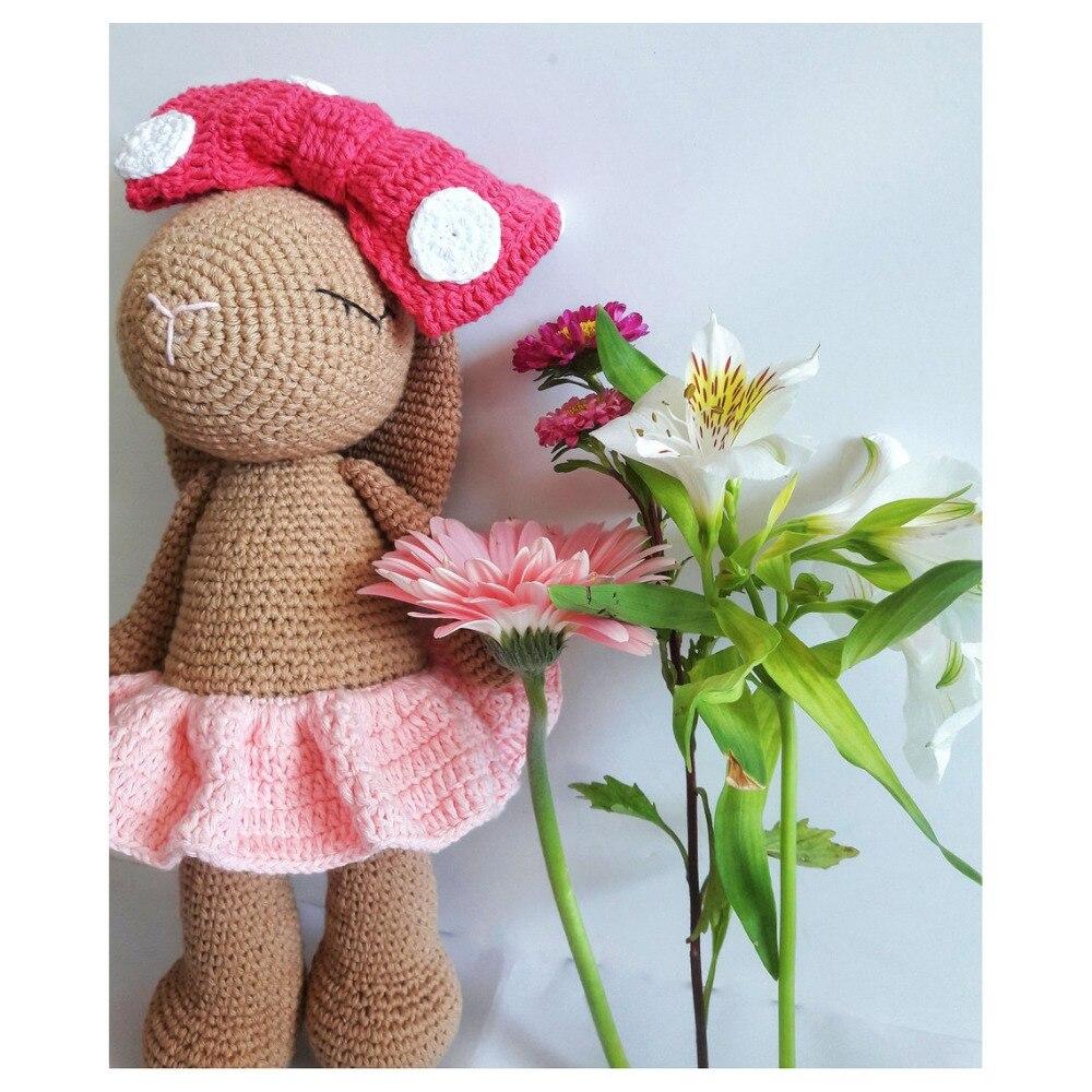crochet toys  amigurumi  rattle hair    model  number  SQ0025