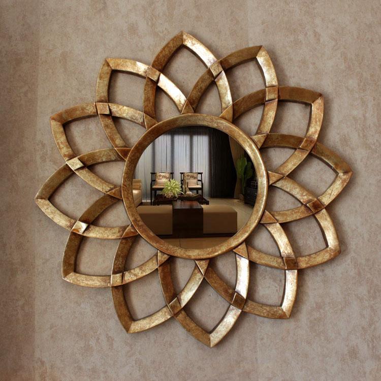 Бесплатная доставка Dia78cm Европейский стиль настенные декоративные зеркала