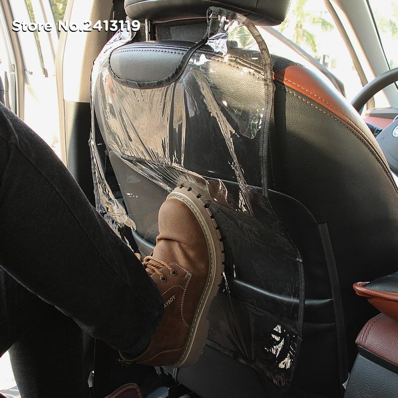 Oparcie siedzenia samochodu pokrywa maluszek mały anty kopnięcie mata dla chevroleta Cruze Aveo Captiva Trax Epica żagiel Orlando Lacetti Lova