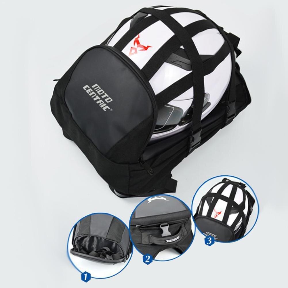 Mochila para casco de Moto Centric, mochila impermeable para ciclismo, mochila para motocicleta, bolso Bolsa de viaje de ocio para Mc-0078, bolso de hombro