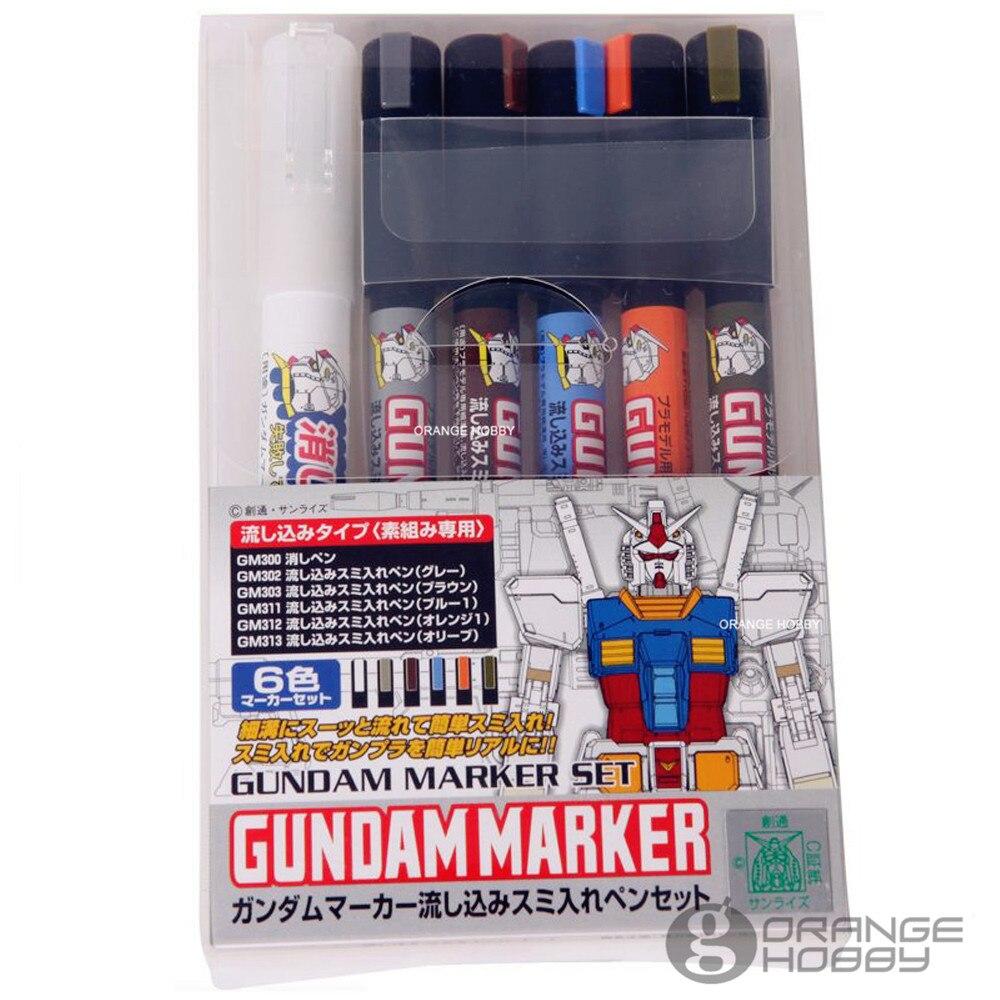 Mr. Hobby GSI MrHobby GMS122 Gundam marcador para el modelo de Hobby pintura modelado