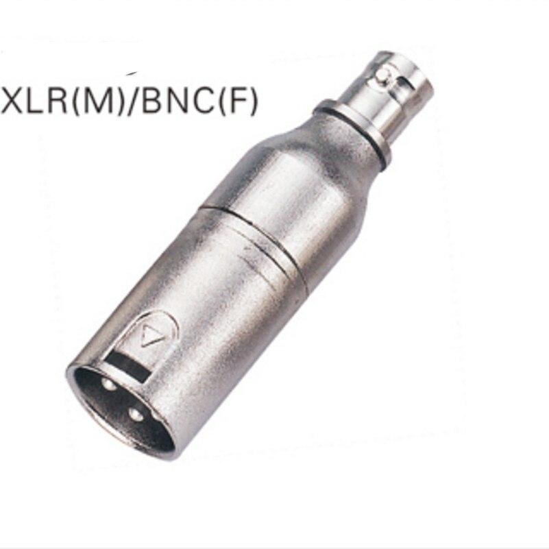 5 قطعة/الوحدة NA2MBNC محول الذكور XLR 3 دبابيس/الإناث BNC