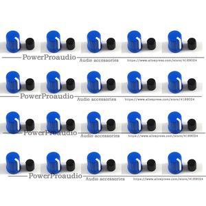 20pcs Dark  Blue Color Rotary Control Knob For Pioneer XDJ-RX R1 RZ AERO DJM-T1 S9 DIY DJ