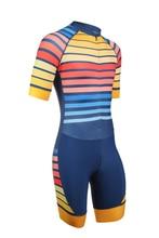 Летние мужские и женские триатлон Майо Триатлон Велоспорт Джерси skinsuit ropa ciclismo rode racing bike одежда комбинезон