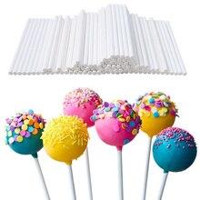 100-2000 pièces 100mm sucette bâton de qualité alimentaire en plastique Pop ventouse bâtons gâteau moule Pop bâtons Lollypop bonbons chocolat sucre pôle