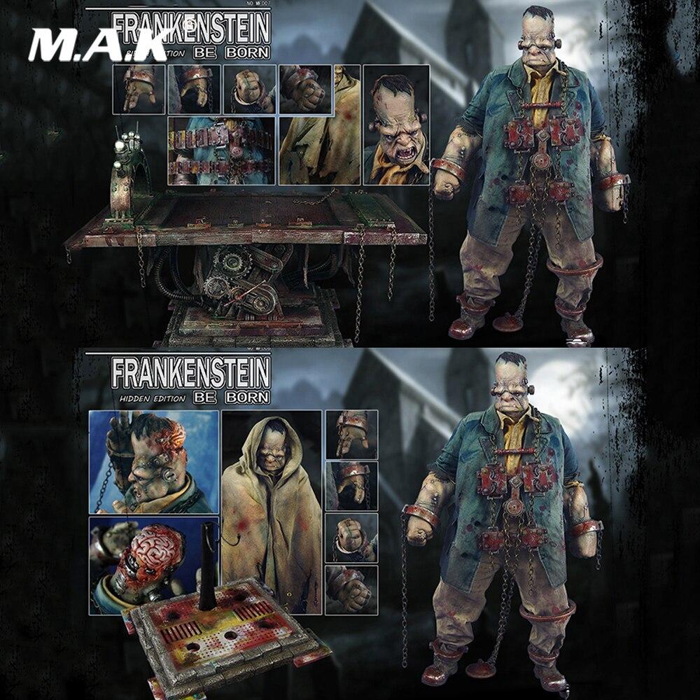 X MF006/XF007 juego a escala 1/6, juego Ful de cintas sueltas, archivo, edición oculta de Frankenstein/juego de figuras de acción, regalos para seguidores