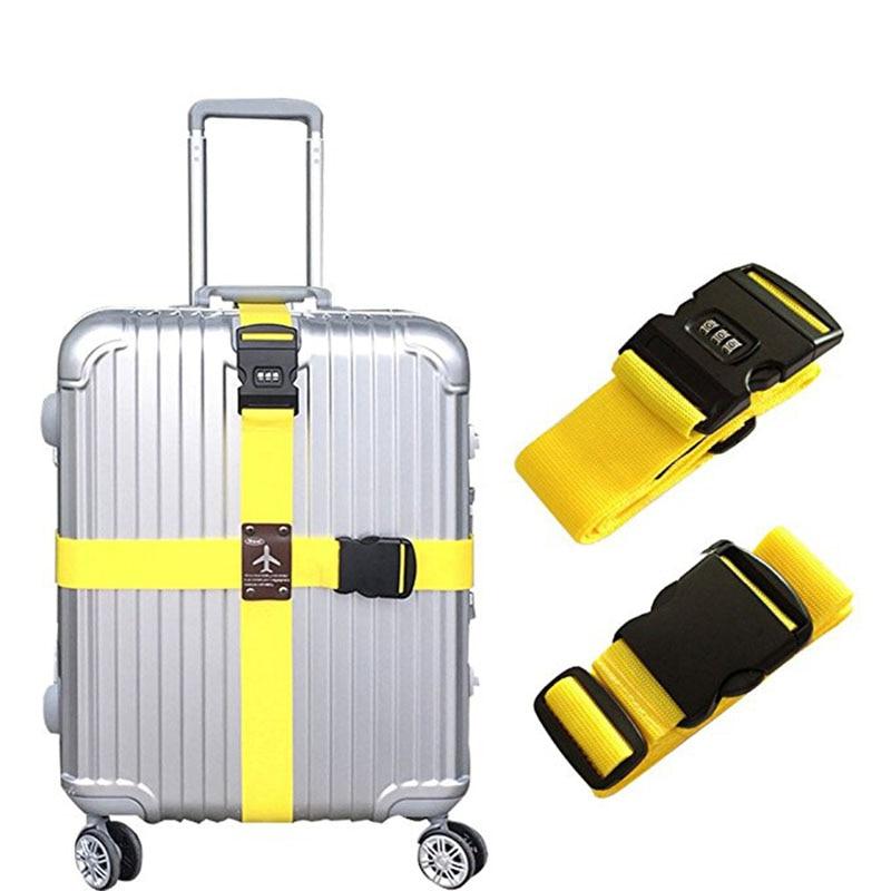 Съемный поперечный ремень для багажа, ремни для упаковки чемоданов, ремни безопасности с замком 8 XH8Z