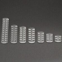 Acrylique ouvert 4Pin 6Pin 8Pin 12Pin 14Pin 16Pin 24Pin câble peigne pour câbles dalimentation dordinateur à manches