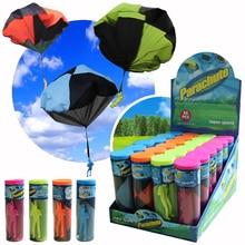 Enfants notre porte Sport jouet main lancer jouet parachute enfants apprentissage éducation jouet parachutiste action figure jouets pour enfants