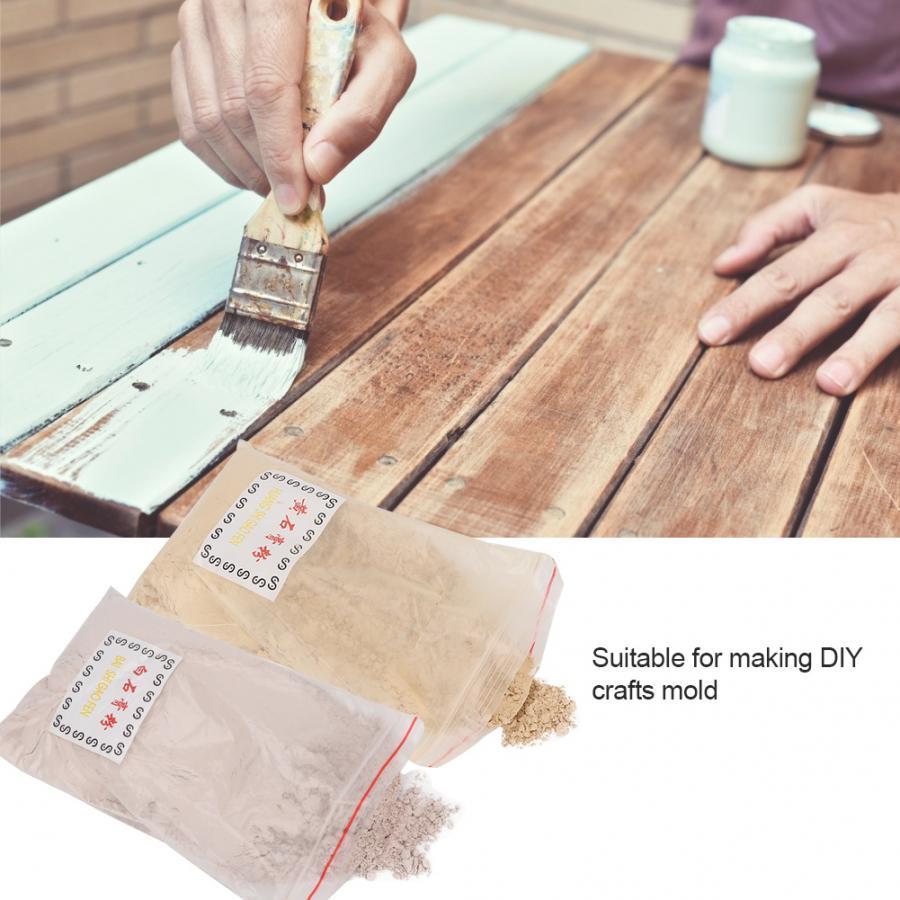 Polvo de yeso para DIY, artesanías de yeso 3D, molde de joyería, accesorio de fundición, herramienta de joyería para DIY, molde de arquitectura, decoración