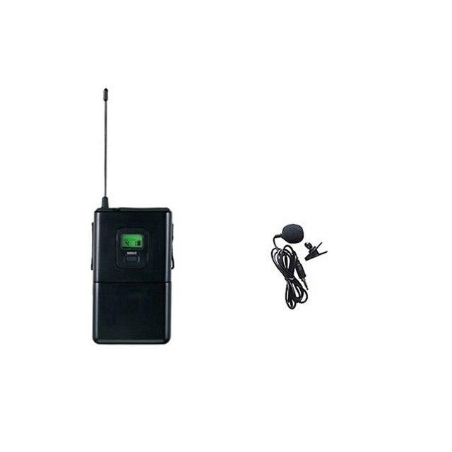 Bodypack Beltpack auriculares inalámbricos lavaliere micrófono transmisor sólo compatible con SKM8000A SKM8000B