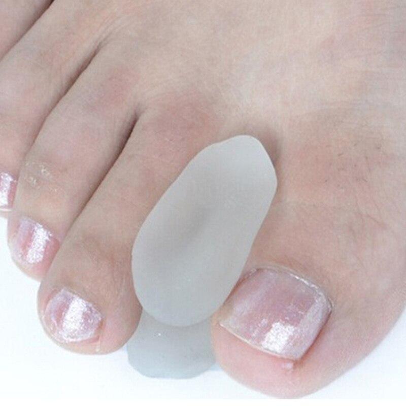 2Pcs Heißer Bunion Teller Hallux Valgus Pediküre Corrector Fußpflege Knochen Daumen Valgus Schutz Silikon Finger Toe Separator