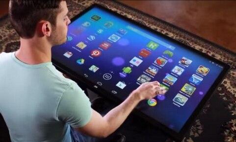 3g wifi 55 polegada digital signage exibe monitores de cctv digital tft lcd jogo mesa