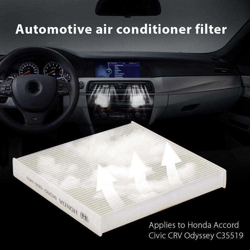 Reemplazo de filtro de aire de cabina para Honda Accord Civic Crosstour CR-V Odyssey
