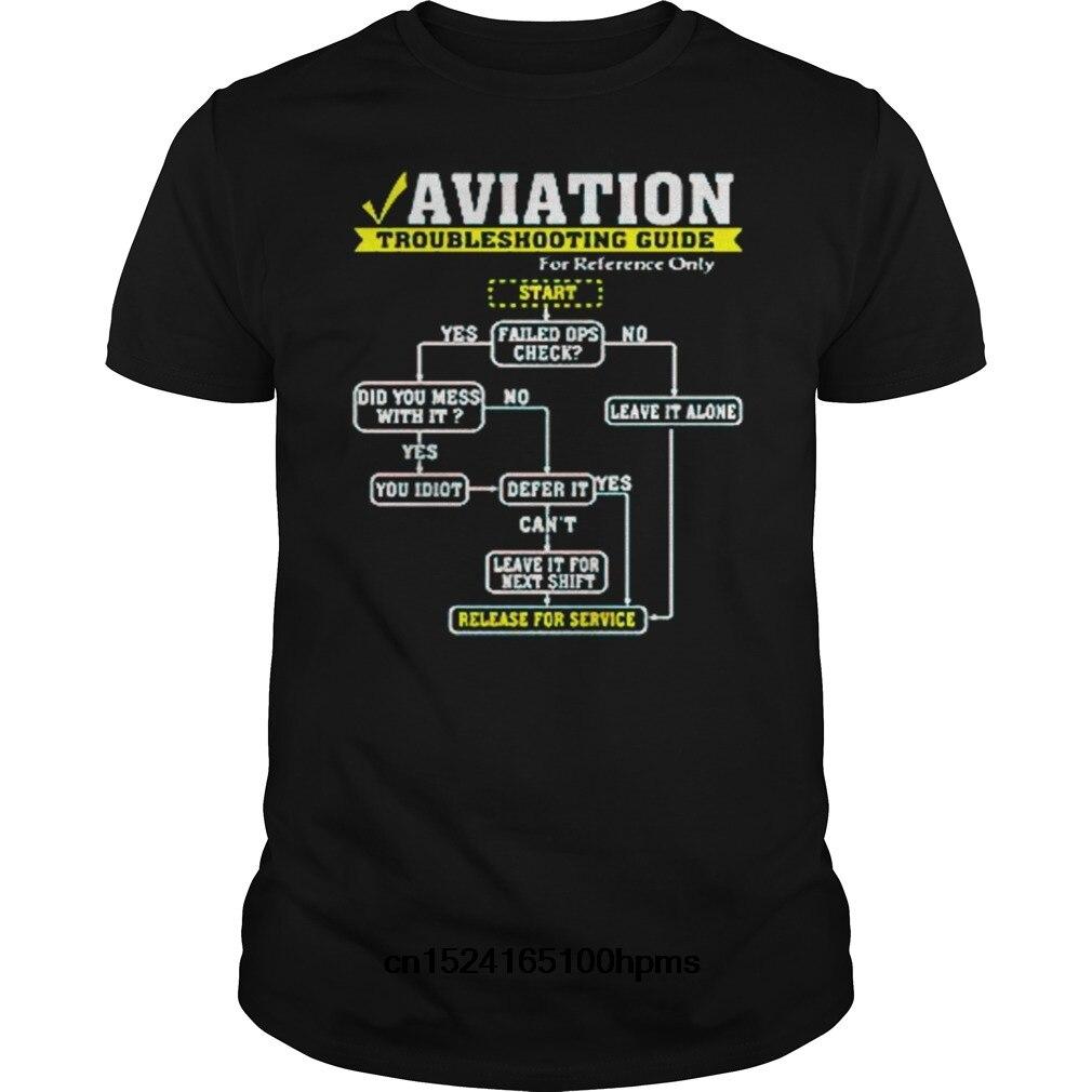 Lustige Männer T Shirt Frauen Neuheit T-shirt Luftfahrt Guidecool T Hemd