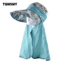 TQMSMY chapeaux de soleil multifonctions   Chapeau de plage Panama, Anti-UV, Chapeu feminino doux dété pliable, capuchons nœud papillon pour femmes