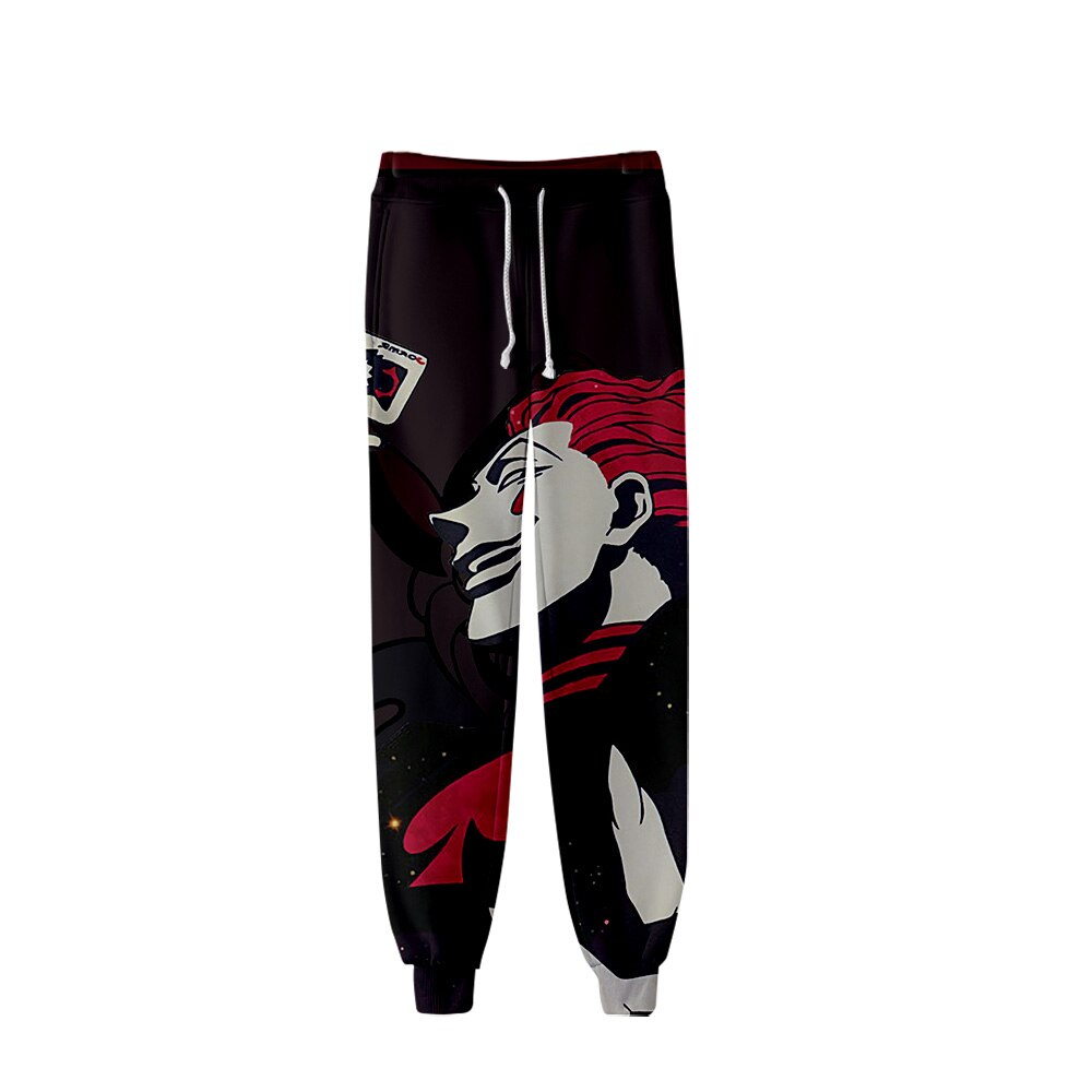 Hisoka pantalones 3D envuelto imprimir 2019 Tops gran oferta primavera mujeres y hombres Sexy pantalones de chándal Jogger k-pops pantalones de talla grande 4xl