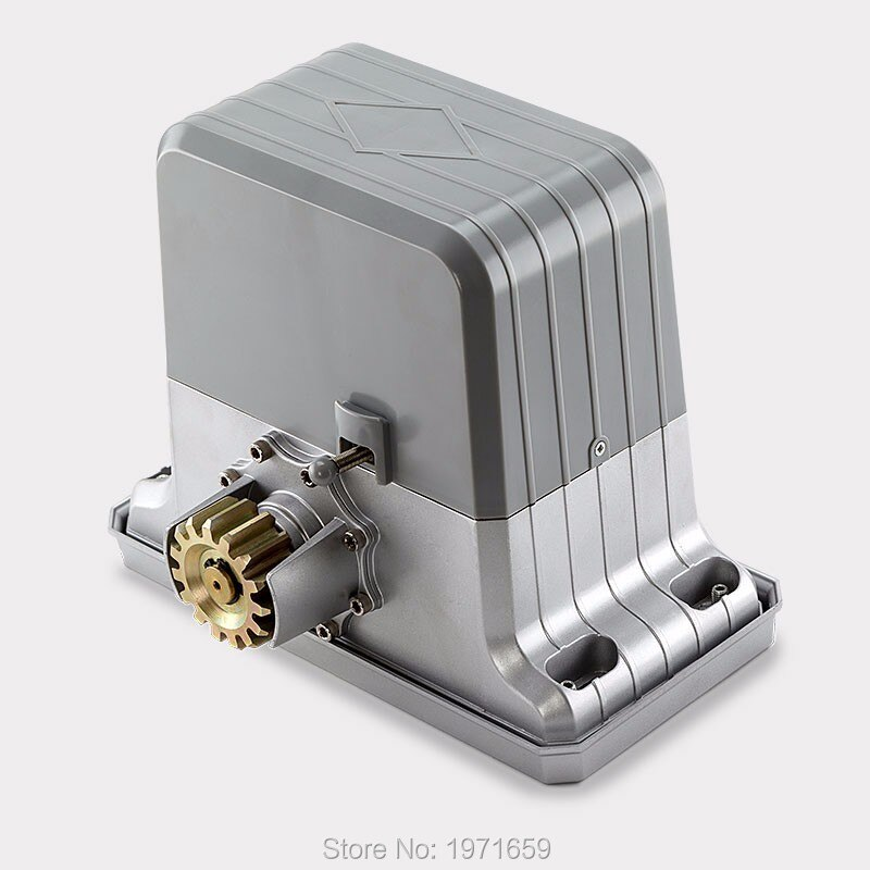 AC220V/110 V, controlador automático de apertura de puerta corredera eléctrica para entrada de espacio límite de entrada, portal max1800kgs