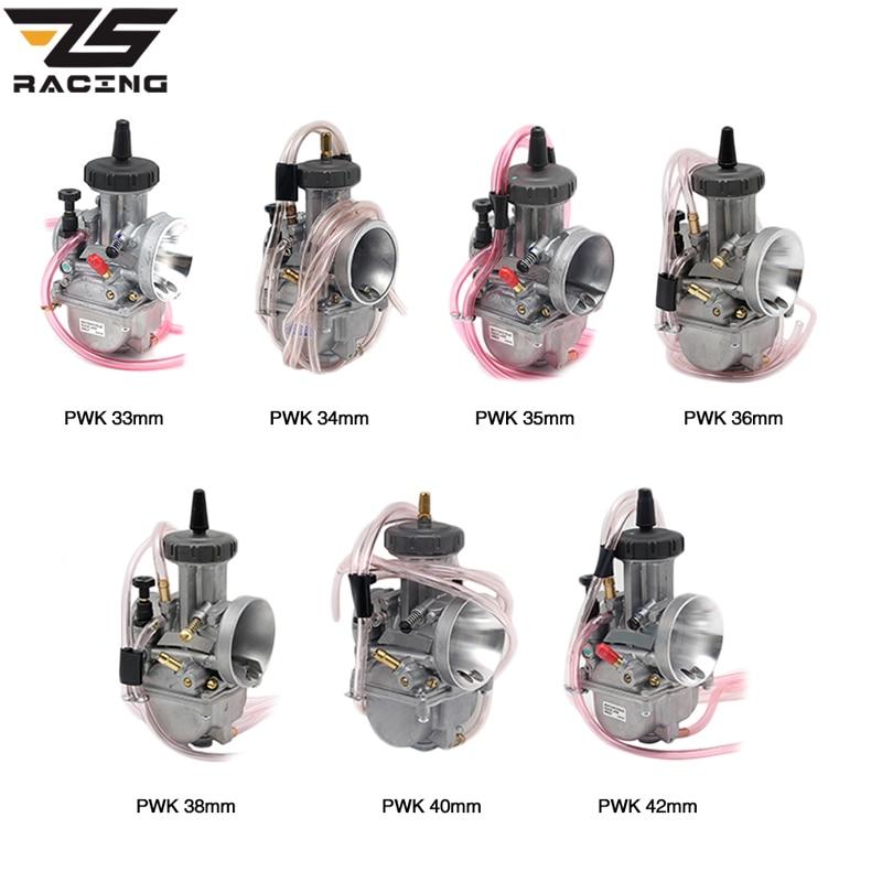 ZSDTRP-مكربن محرك دراجة نارية ، Keihi PWK 2T/4T ، 33 34 35 36 38 40 42 مللي متر ، لهوندا ياماها ، محرك السباق 150-600cc