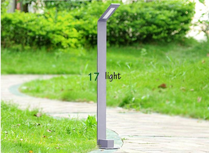 LED Aluminum Lawn lamp for gaden/park high power 5W  waterproof IP65 gray color lamp lamp