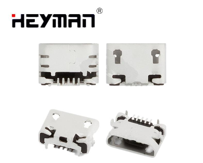 De carga USB conector de Puerto de la base para Jiayu G2 G2F G4 G4S G5 (5 pin original micro USB tipo B)