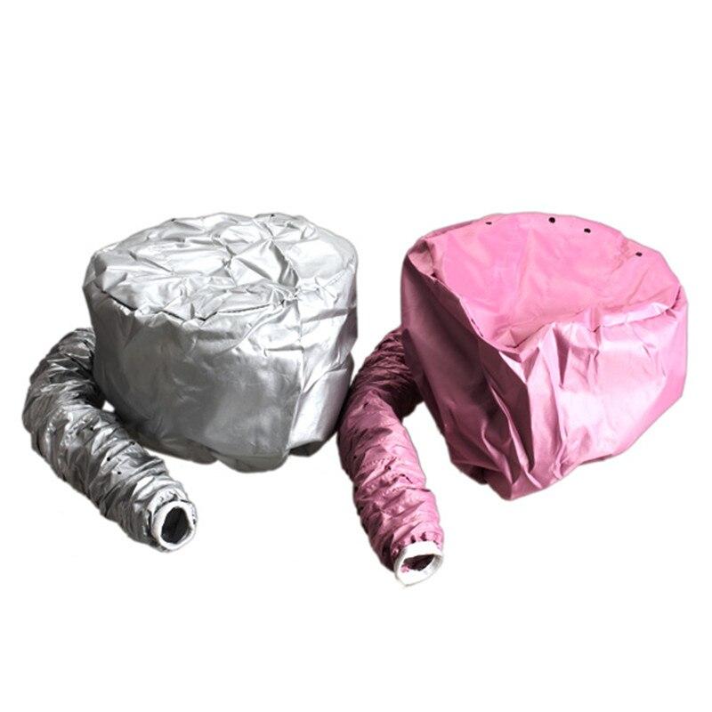 1 ud. Secador de pelo de Nylon tapas de lactancia tinte de pelo modelado calentamiento caliente aire secado tratamiento Cap hogar más seguro que eléctrico