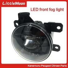 LittleMoon-ensemble de feux antibrouillard   Modèle Original, super lumineux, pour peugeot ot207 508 307 407 3008 C3 C4 Picasso DS3 DS4 DS5
