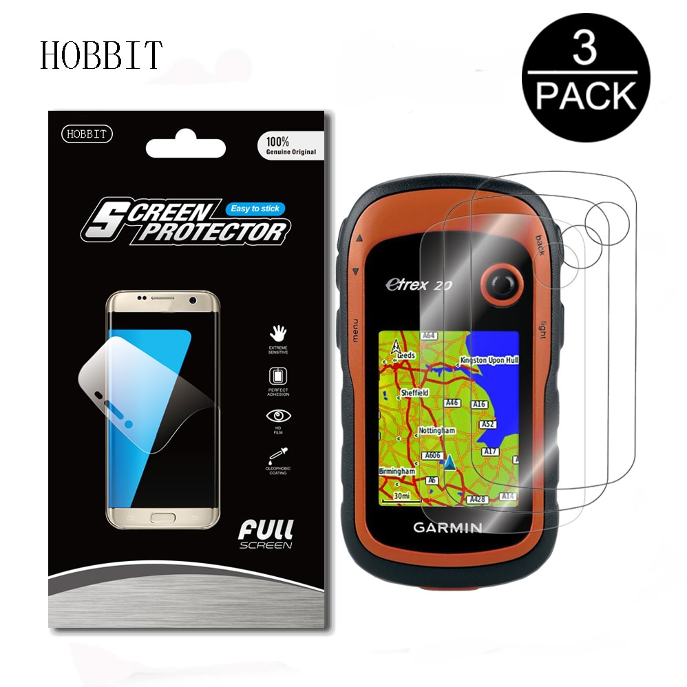 3 paquetes para Garmin eTrex 10 20 30 senderismo GPS navegador a prueba de explosiones Protector de pantalla escudo película piel