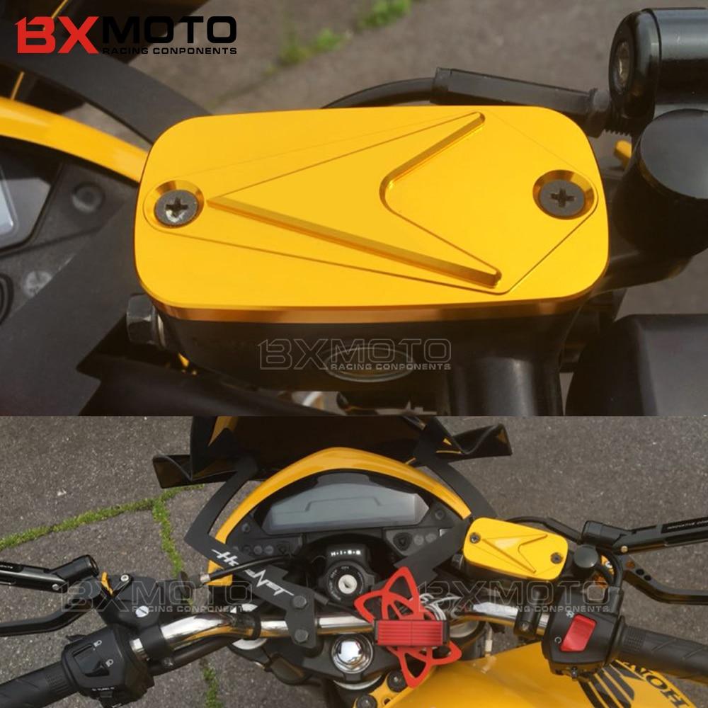 Für Honda CB 400 SF CBF600 S CBR600F CBR600 RR Hornet 600 CBF 500 DN-01 CBF1000 Motorrad Vorne Brems Flüssigkeit reservoir Kappe Abdeckung