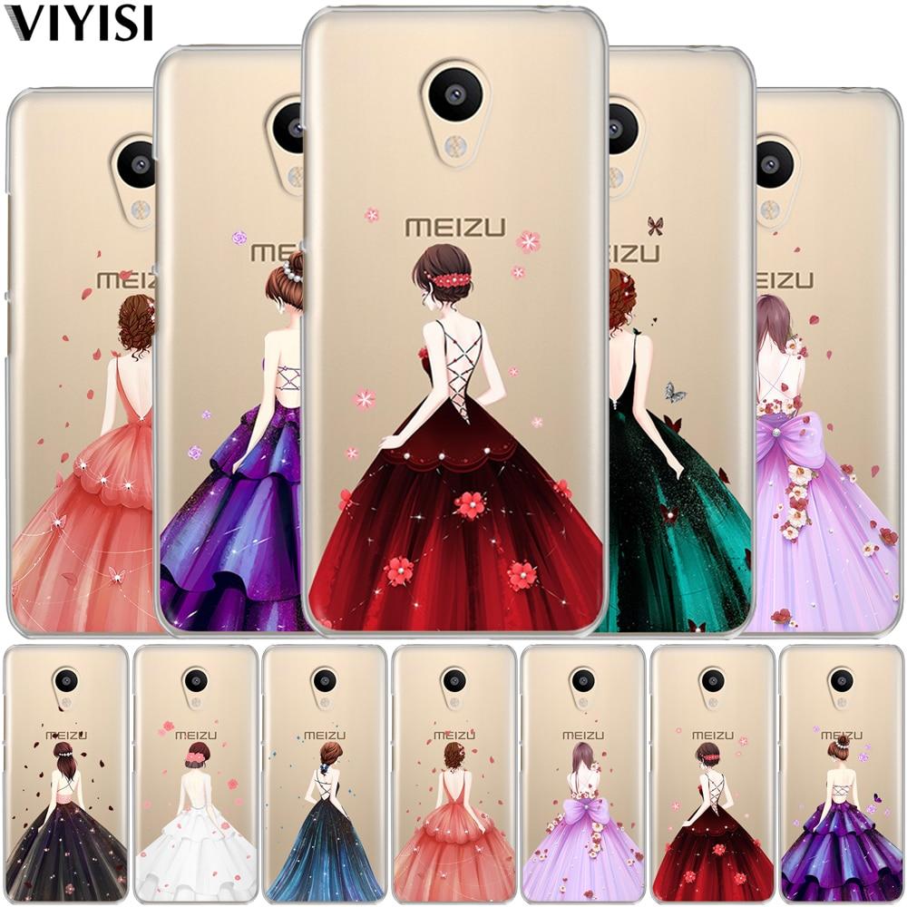VIYISI For Meizu M3 M3s M5 M5s M5c Mini Note Pro 6 Soft TPU Cool Cute Cartoon Phone Case for meizu U10 U20 Back Cover shell