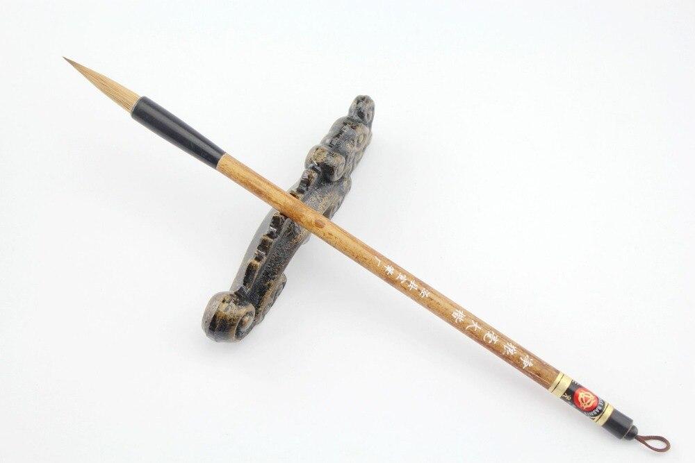 """Pintura de tinta china de la famosa marca china """"Tres conejos"""", caligrafía de Pelo de lobo puro, sumi-e japonés"""