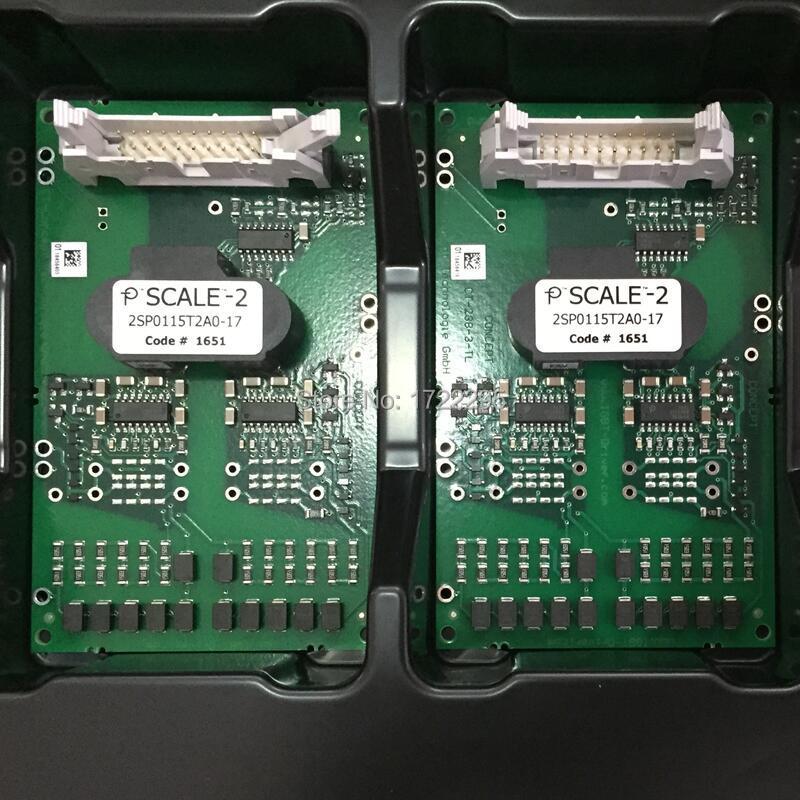 Nieuwe en Originele 2SP0115T2A0-17 compact dual-kanaals intelligente gate SCALE-2 driver ontworpen voor 1700 V 17mm dual IGBT modules