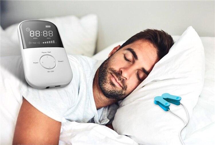 Lastek, dispositivo para uso doméstico portátil, alivia el insomnio, la ansiedad y la ansiedad, dispositivo CES para dormir mejor