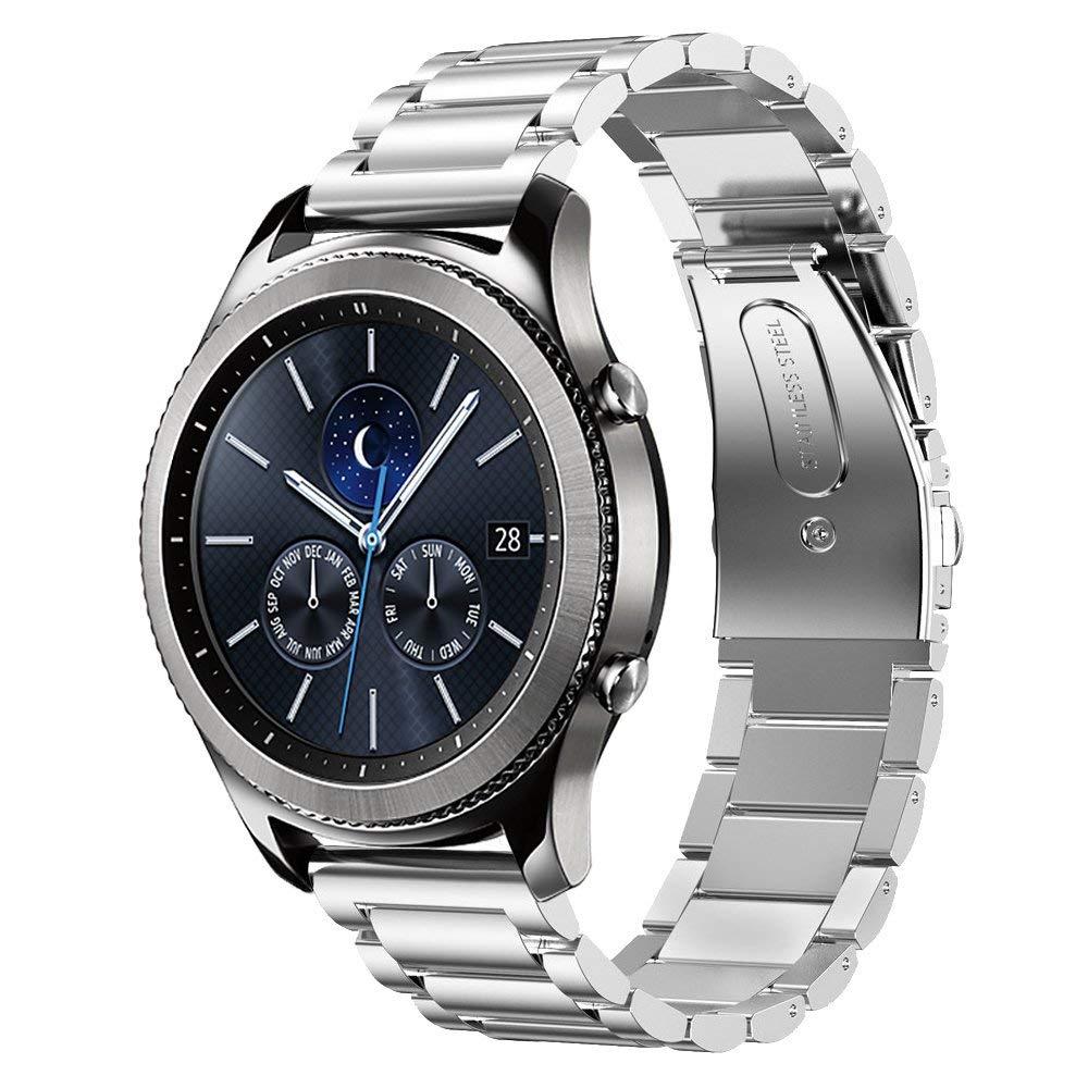 22 мм для Samsung Gear s3 Frontier band Samsung Galaxy Watch 46 мм металлический браслет Huawei watch GT strap Gear S3 Classic 2 Ремешки для часов      АлиЭкспресс