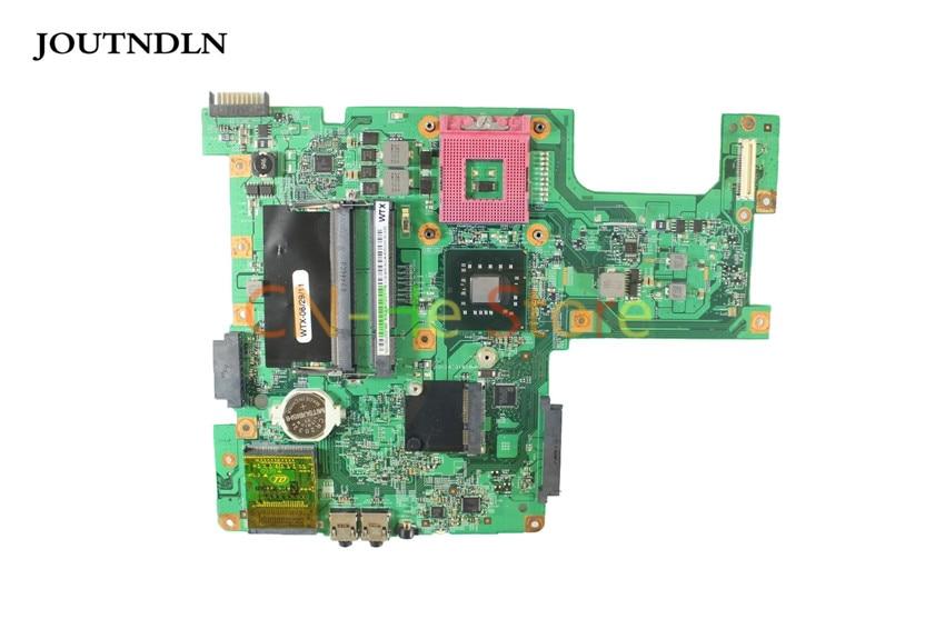 JOUTNDLN PARA Dell Inspiron 1545 Laptop motherboard GM45 0G849F G849F 48.4AQ01.031 DDR2 com Frete CPU