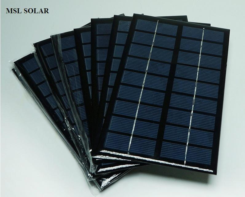 ALLMEJORES-لوحة شمسية محمولة 9 فولت ، 3 واط ، عالية الجودة ، متعددة الكريستالات ، 125 مللي متر × 195 مللي متر ، شحن مجاني