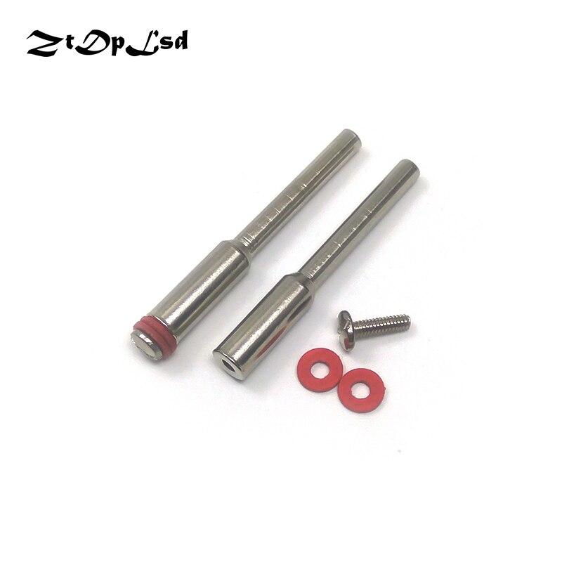 2pcs 2.35 / 3 / 3.17mm lama per sega circolare biella utensile rotante gambo lavorazione del legno Dremel mini trapano elettrico accessori