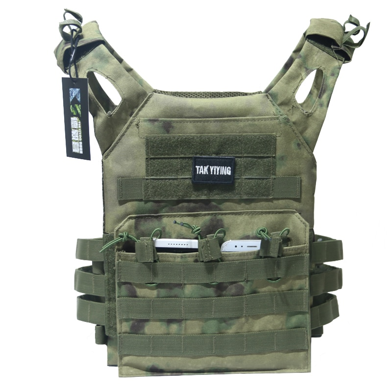 Accesorios tácticos de caza, armadura corporal, chaleco de transporte de placa JPC, aparejo de pecho Mag, equipo de Paintball Airsoft, chalecos de carga de oso, Camuflaje