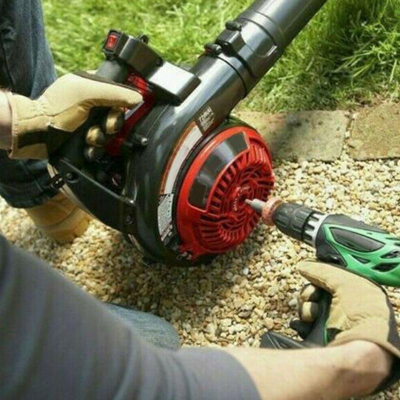 Electric Engine Start Drill Bit Adapter Starter Plug Button Durable for Garden HG99