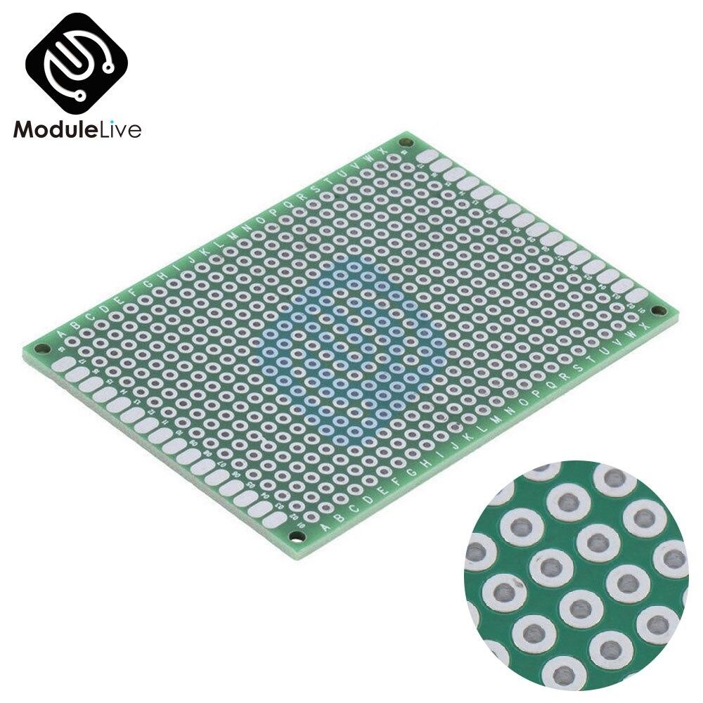 1 Uds doble lado PCB prototipo nned Universal Placa de 5x7 cm 50mm x 70mm