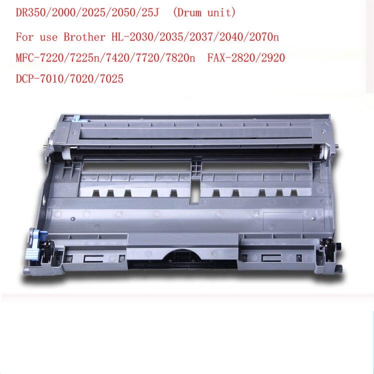 DR-350/DR350/2000/2025/2050/25J tambor unidad kit para impresora Brother HL-2030/2035/2037/2040/2070n MFC-7220/7225n/7420/7720