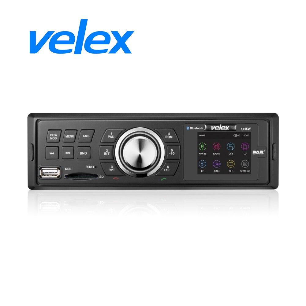 Receptor DAB para coche con AM, FM, RDS, Bluetooth, MP3, 4x45W, envío rápido por DHL