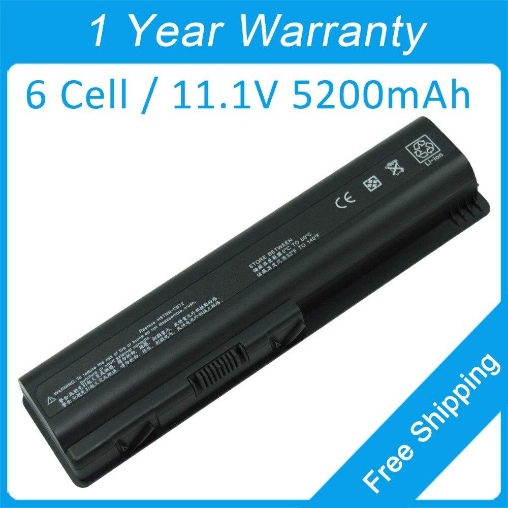 Bateria do portátil de 6 células para hp pavilion dv6t-1200 dv6z-1100 dv6t-1100 dv5z-1200 dv4t-1200 511872-001 497694-001 498482-001