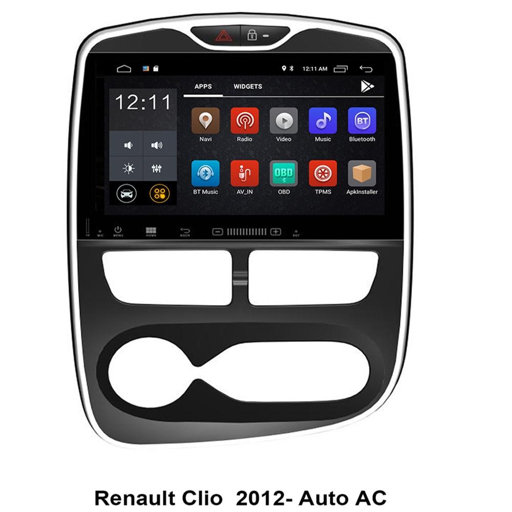 "10.2 ""4G LTE Android 10 8 core car PC multimedia lettore DVD Radio GPS PER Renault Clio 2012 2013 2014 2015 2016 2017 2018 2019 +"