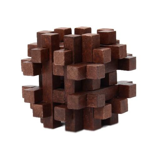 Chanycore Bebê Aprendendo Brinquedos Educativos De Madeira 3D Puzzle Kong Ming Luban Bloqueio Cérebro Teaser Cubo ssl Presentes Dos Miúdos 4252